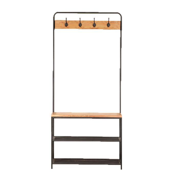 Estanteria-hierro-y-madera-81x30x183