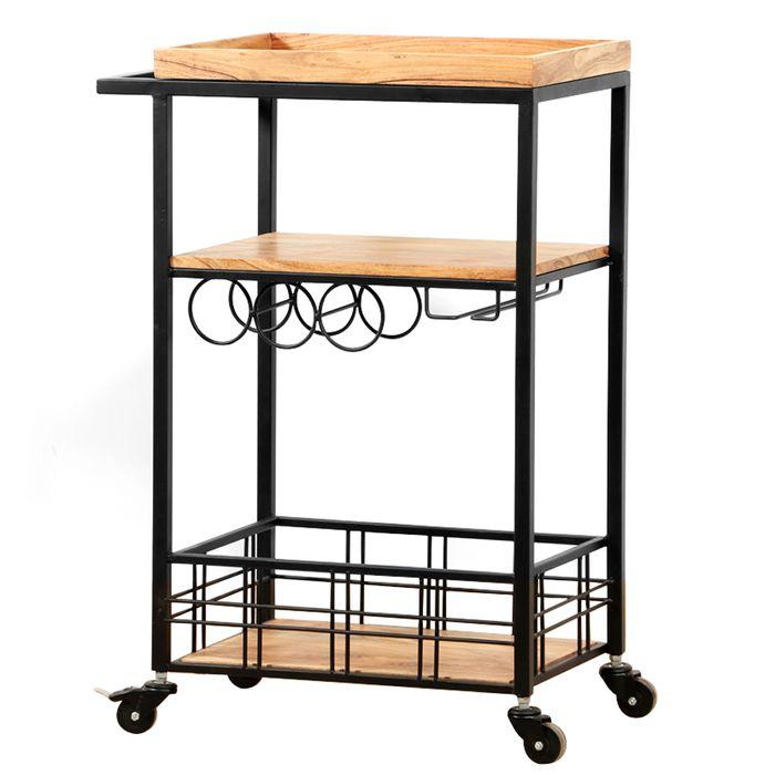 Bar-con-ruedas---estante---canasto-60x36x88-natural
