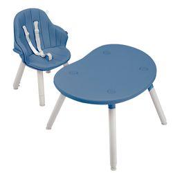 Silla-de-comer-BEBESIT-convertible-a-escritorio-azul