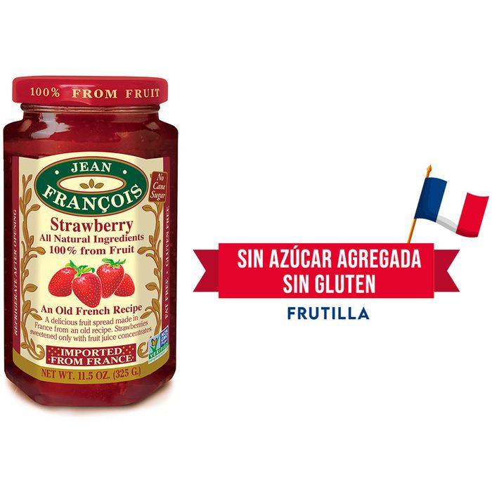 Mermelada-sin-azucar-agregada-JEAN-FRANCOIS-frutilla-325-g