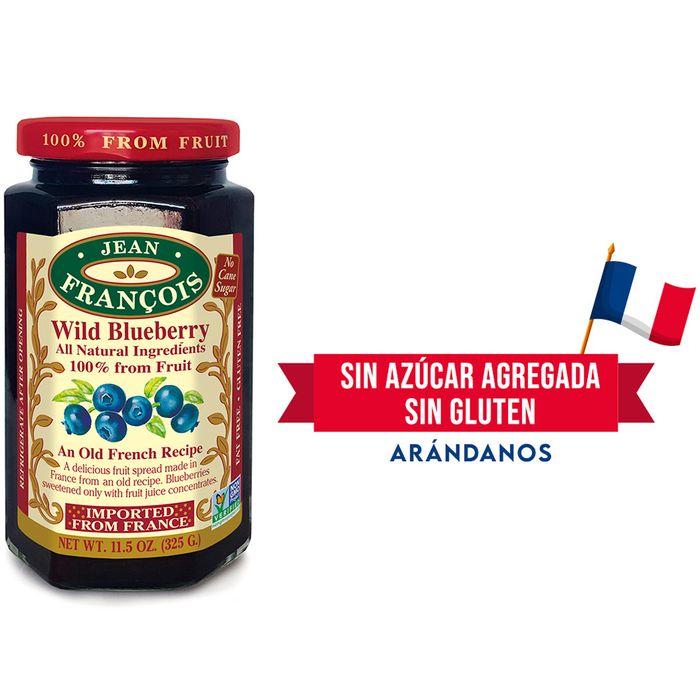 Mermelada-sin-azucar-agregada-JEAN-FRANCOIS-arandanos-325-g