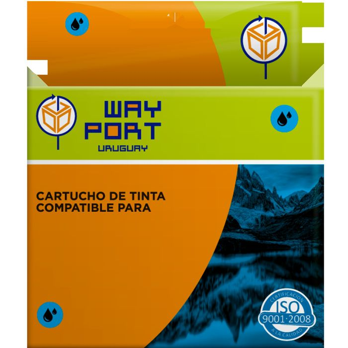 Cartucho-Way-Port-para-BROTHER-LC60-985DC-cian