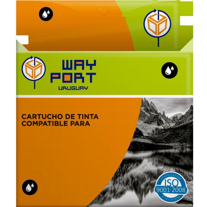 Cartucho-Way-Port-para-BROTHER-LC71-75DC-negro