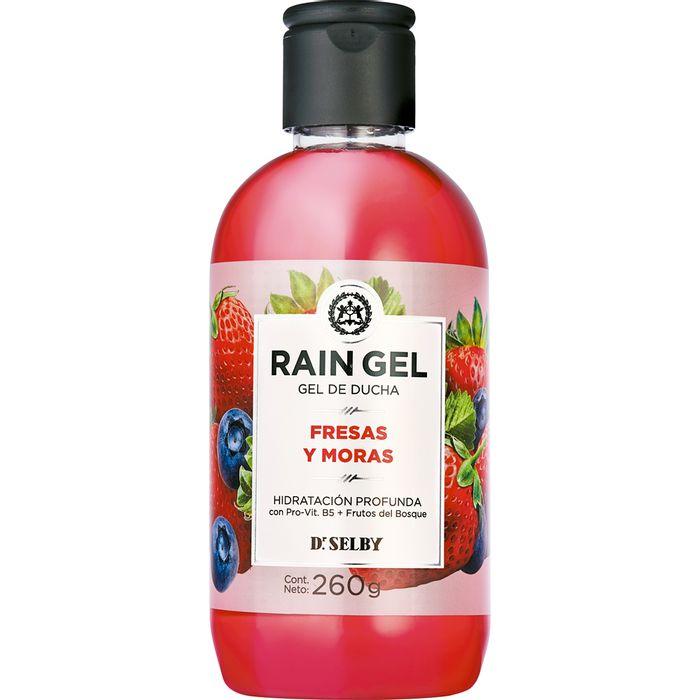 Gel-de-ducha-RAIN-GEL-fresa-y-mora-frasco-260gr