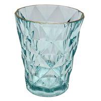 Vaso-280-ml-en-acrilico-verde-agua-con-borde-dorado