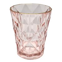 Vaso-280-ml-en-acrilico-rosado-con-borde-dorado
