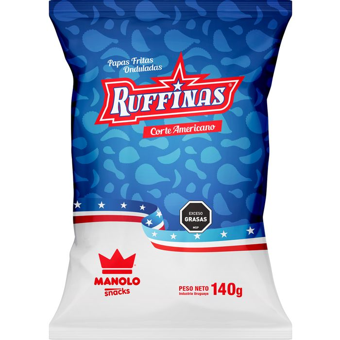 Papas-fritas-Ruffinas-MANOLO-140gr