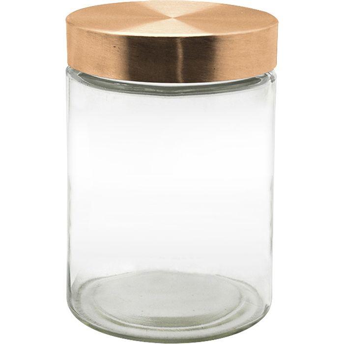 Frasco-cilindro-Tapa-rosca-cobre-17-cm-SELECTA