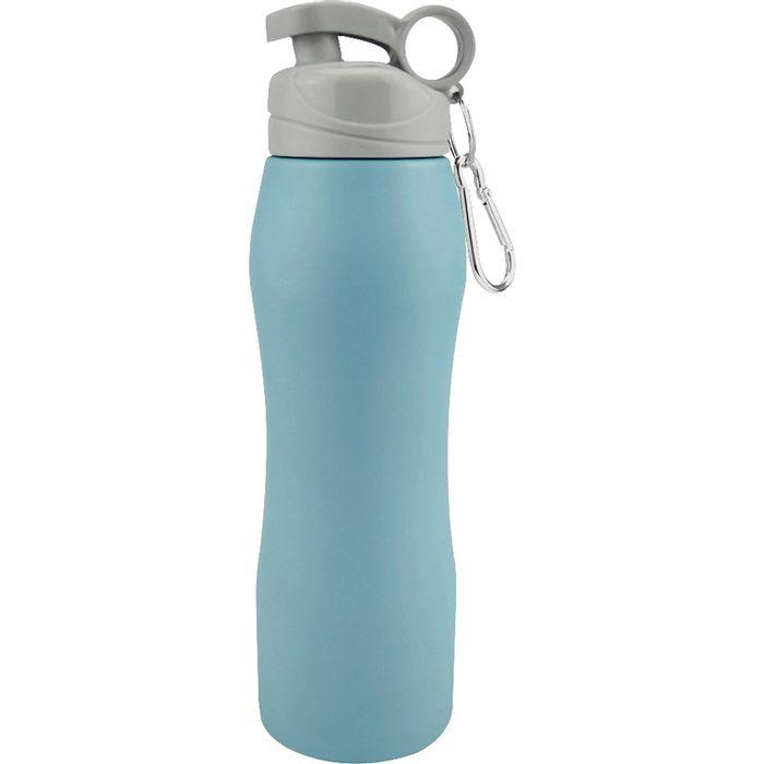 Caramañola-750-ml-acero-azul-mate-gris