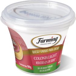 Queso-untable-Colonia-sin-sal-light-FARMING-200-g