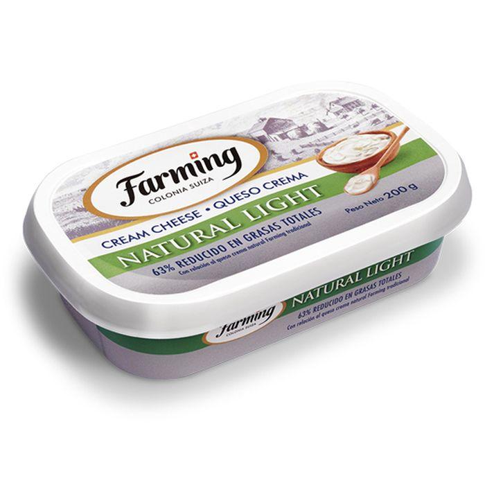 Queso-crema-natural-light-Farming-200-g