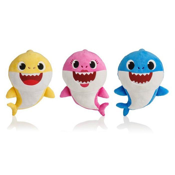 Shark-family-peluche-con-cancion-shark