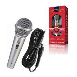 Microfono-cableado-Mod.-JTACCAV003-2.5-m-rojo