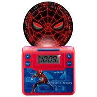 Reloj-despertador-MARVEL-Spiderman-con-cargador-USB