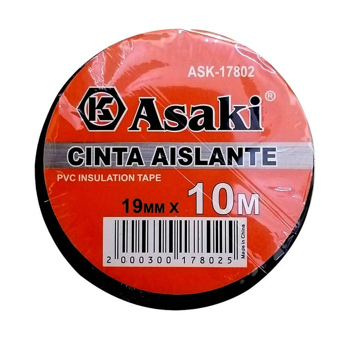Cinta-aisladora-ASAKI-10-m-negra