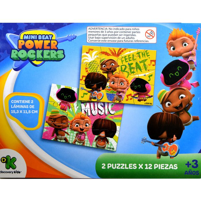 2-Puzzles-12-piezas-mini-beat-power-rockers