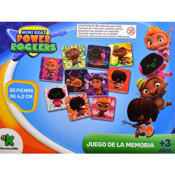 Juego-de-memoria-mini-beat-power-rockers