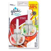 Desodorante-de-ambiente-GLADE-aceite-natural-manzana---canela-repuesto-x-2