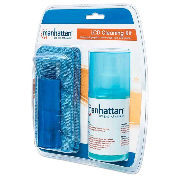Limpiador-pantalla-MANHATTAN-200-ml-con-paño-y-cepillo