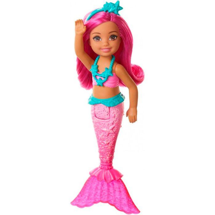 Barbie-Chelsea-surtido-de-sirenas