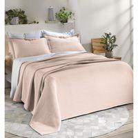 Cubrecama-DOHLER-160x250-cm-con-funda-50x70-cm-rosa