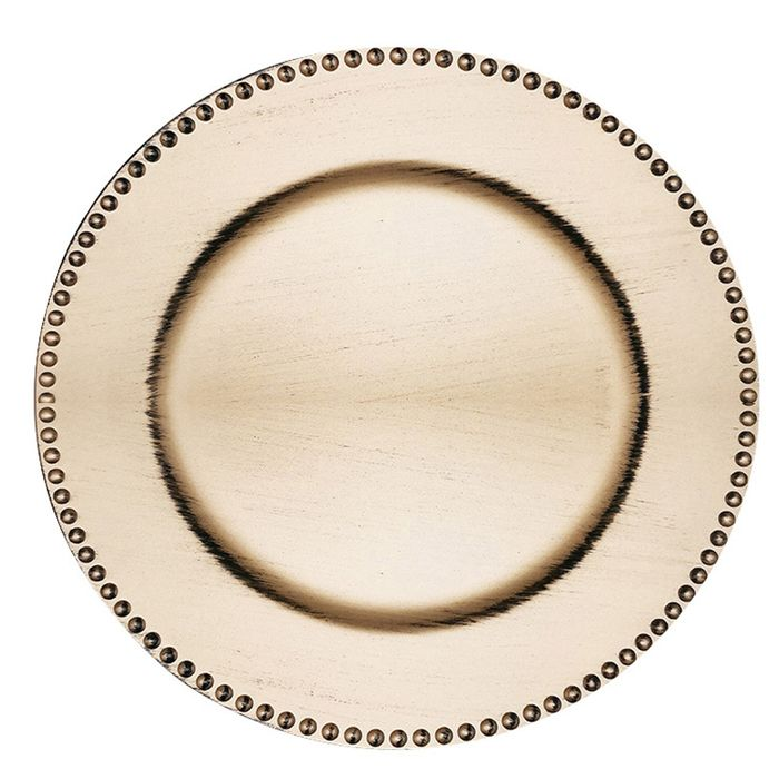 Plato-de-sitio-33-cm-dorado-con-borde-de-puntos