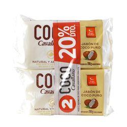 Pack-x2-jabon-en-barra-coco-CAVALLARO-con-20--dto