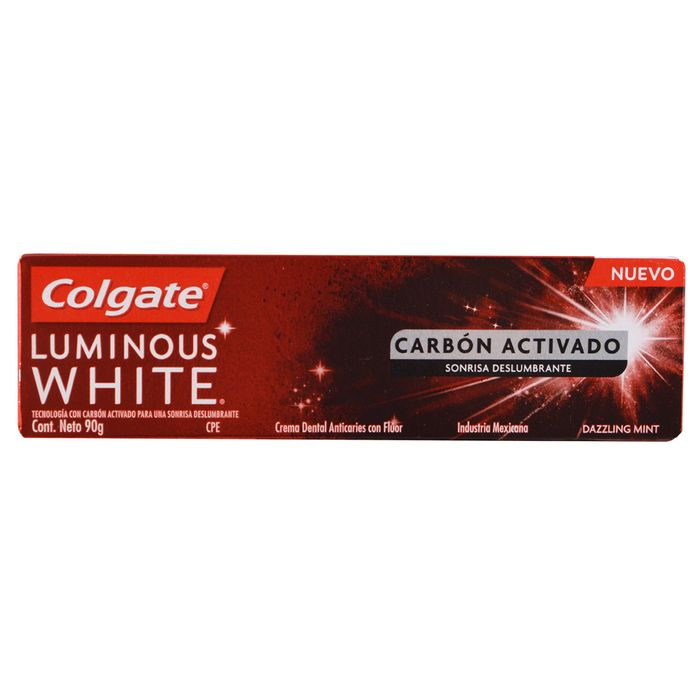 Crema-dental-COLGATE-Luminous-white-charcol-pm.-90g