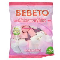 Marshmallow-BEBETO-Pink---white-135g