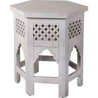 Mesa-lateral-para-living-hexagonal-en-madera-labrada-50x50x50-cm