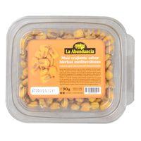 Maiz-crujiente-hierbas-mediterraneas-LA-ABUNDANCIA