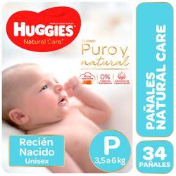 Pañal-HUGGIES-Natural--Care-P-Mega-Ellos-pq.-34-un.