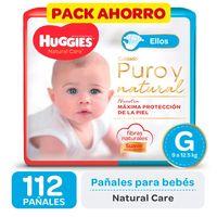 Pack-ahorro-pañal-Huggies-natural-care-G-112-un.