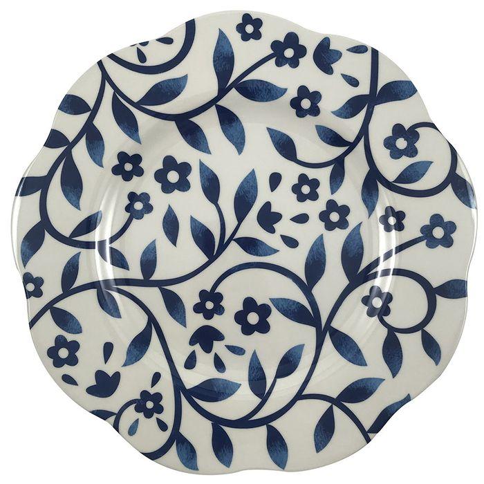 Plato-llano-melamina-azul-26.8-cm