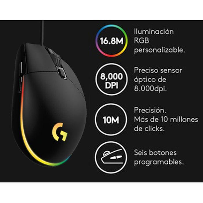 Mouse-gaming-LOGITECH-Mod.-G203