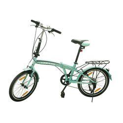 Bicicleta-plegable-VERADO-rodado-20-verde-manzana