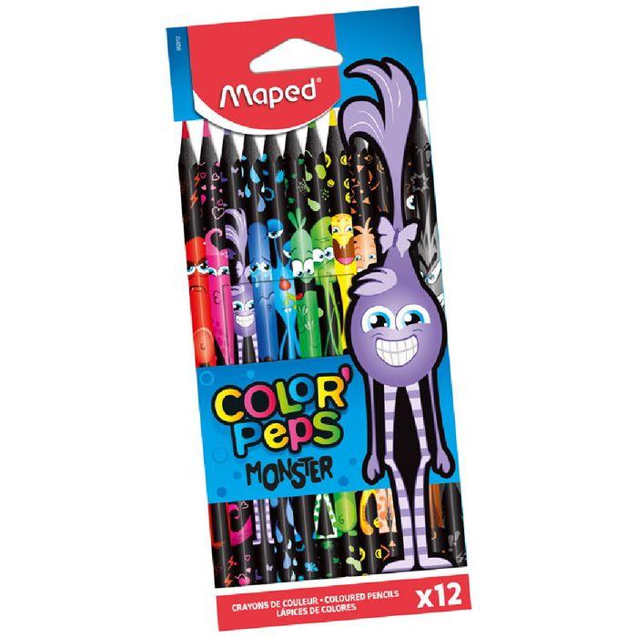 Lapices-de-colores-MAPED-Monster-12-unidades