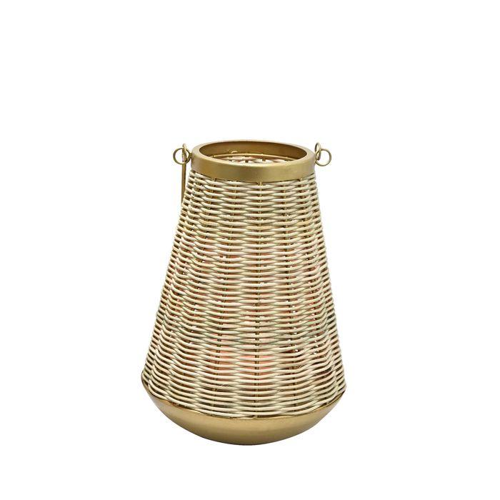 Fanal-en-rattan-32-cm-dorado-mate