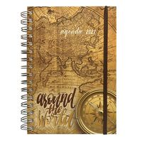 Agenda-C.FILIPPI-vintage-diaria-2021-con-espiral