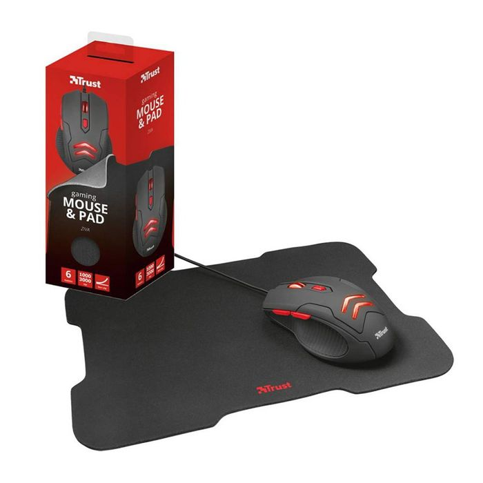 Combo-gaming-TRUST-Mod.-Ziva-mouse---pad