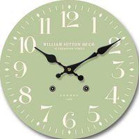 Reloj-de-pared-33-cm-verde-con-numeros-grandes