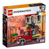 LEGO-–-Overwatch-batalla-final-en-dorado