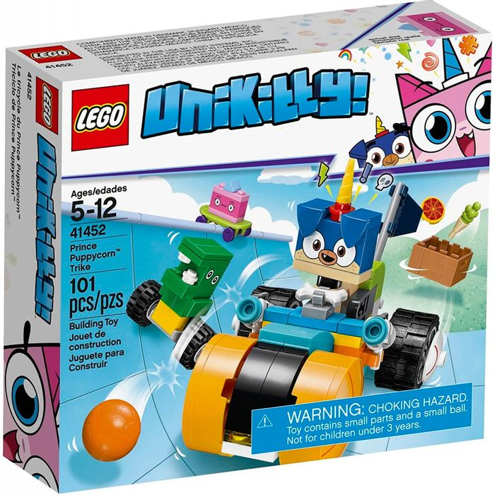 LEGO-–-Unikitty---Prince-puppycorn-trike