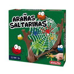Arañas-saltarinas