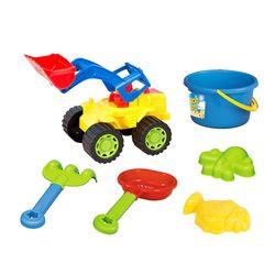Excavadora-con-accesorios-para-playa