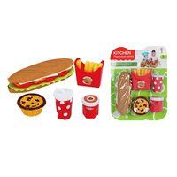 Set-comida-rapida-sandwiches