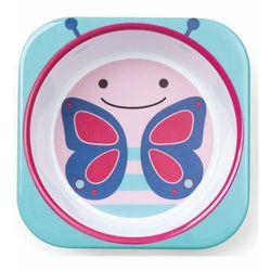 Plato-melamina-para-bebe-SKIP-HOP-mariposa