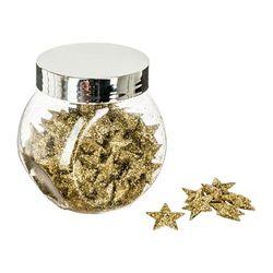 Frasco-navideño-con-estrellas-y-glitter-dorado