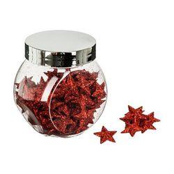 Frasco-navideño-con-estrellas-y-glitter-rojas