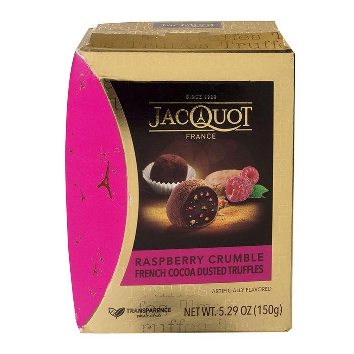 Trufas-JACQUOT-raspberry-crumble-150-g